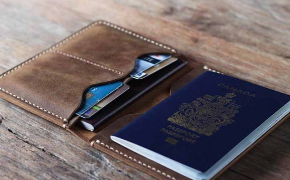 Passport Leather Wallet