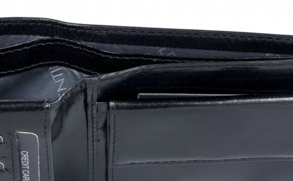 Luxury Leather Travel Document Wallet