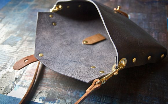 Handmade Leather Clutch Purse