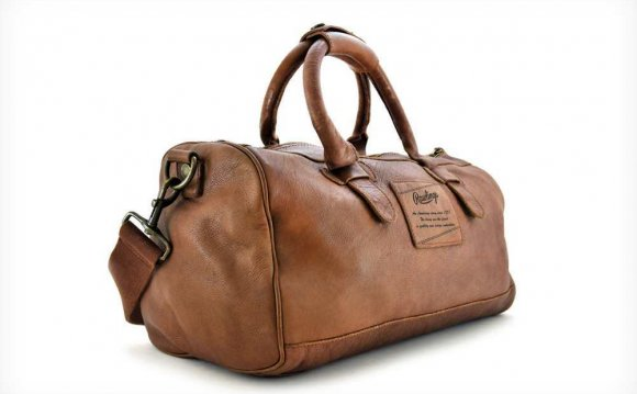 Rawlings Leather Duffle Bag