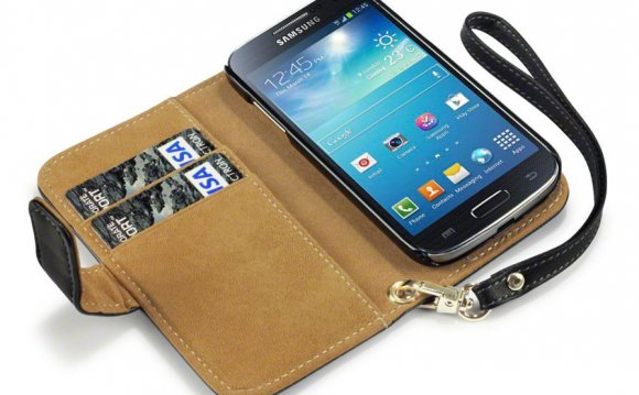 Samsung Galaxy S4 Leather Wallet Cases