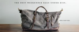 The Best Weekender Bag Under 5