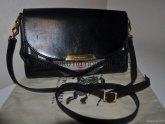 Black Leather Burberry Handbags