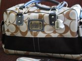 Leather Coach Diaper Bags