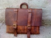 Mens Leather Messenger Bags Distressed
