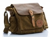 Messenger Bags Canvas Leather