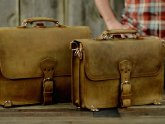 Saddleback Leather Thin Briefcase