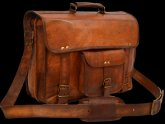 Vintage Leather Satchel Bags