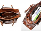 Women Briefcase Leather