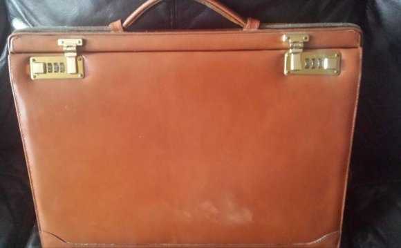 Leather Hard Briefcase