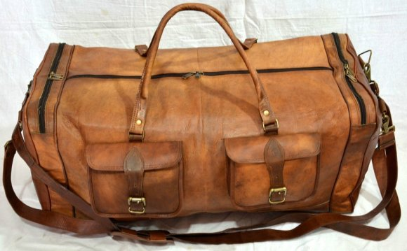 Vintage Leather Travel Bags