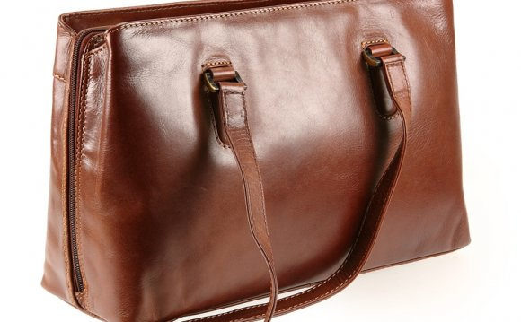 Vintage Tan Leather Bag
