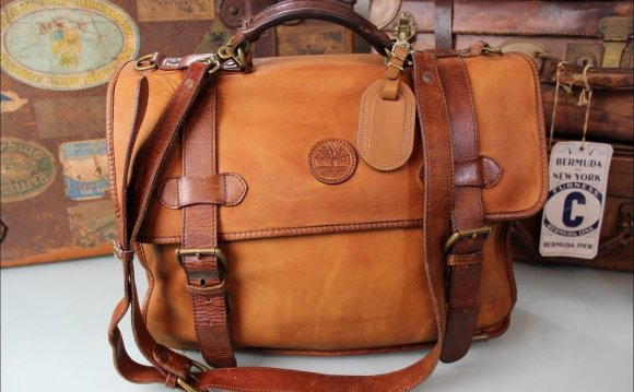 Mens Leather Bags Made in USA
