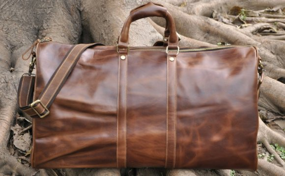 Leather Shoulder Bag for iPad