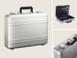 Zero Halliburton Premier 4 Inch Aluminum Briefcase For Men